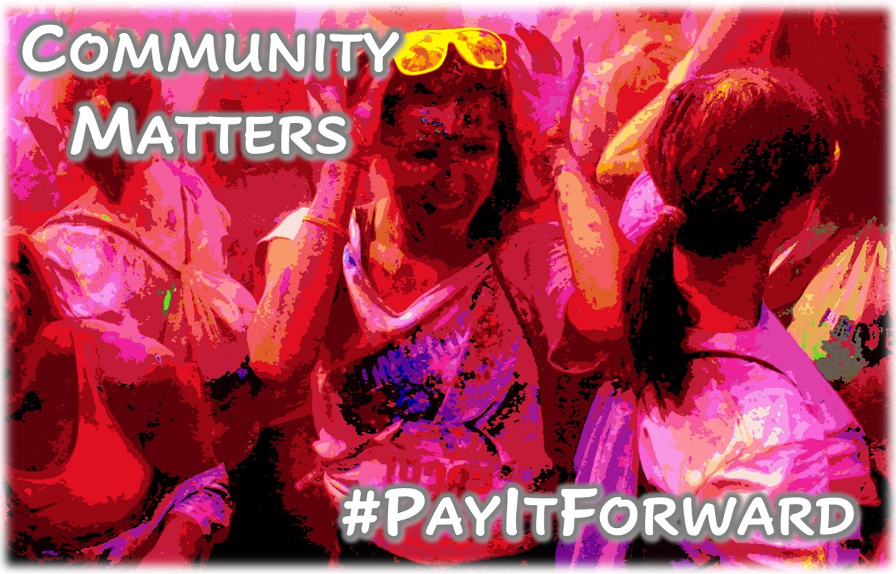 Community Matters – #PayItForward App – Share